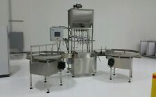 NEW AUTOMATIC GRAVITY LIQUID FILLER, BOTTLE FILLER, LIQUID FILLER, INLINE FILLER