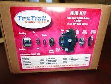 2000 lbs Trailer Axle 5 x 4.5 Lug Bolt Idler Hub 2200 lbs Bearing  2K Easy Lube