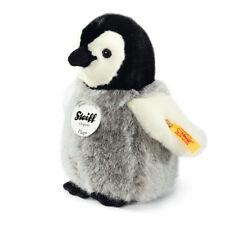 Steiff 'Flaps' Penguin - classic washable plush soft toy - 16cm - 057144
