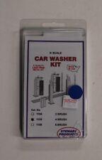 N Scale Stewart No. 1105 * 4 Brush Car Washer Kit - NIB