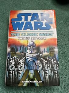Star Wars The Clone Wars, Wild Space Hardback Novel Book EX LIBRARY see images