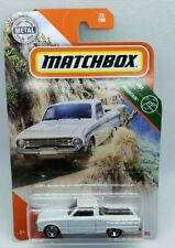 Matchbox 2020 White 61 Ford Ranchero With Chrome RimsHTF