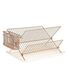 Rack de plato de alambre de cobre