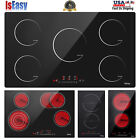 Electric Induction/Ceramic Cooktop 12/23/30/36in. 2/4/5 Burners Built-in Cooker  photo