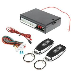 Car Central Door Lock Keyless Entry System Remote Central Alarm Locking VH13P