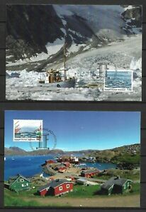 Greenland - 2010 Issue - Full Set - Maxi Cards - VF !!!!!  (A3157)