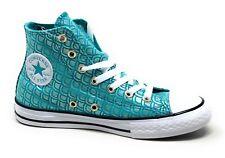 Converse Unisex Kids CTAS Hi Skate Shoes Aqua White Size 2 M US