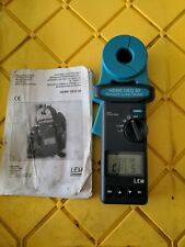 Lem Heme Geo 30 Clamp on Ground Loop Tester & Lem Norma Handy 3 Pole Earth Kit
