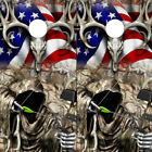 Cornhole Wraps Cornhole Decals Deer Skull Grim Reaper Bow Hunter American Flag