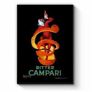 Vintage Campari Orange Peel Cafe Advert Wall Art