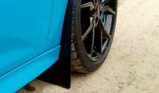 Nuevo Mk3 Ford Focus RS-Negro 4mm PVC Set Completo mudflaps - - mobiliario Hazlo tú mismo
