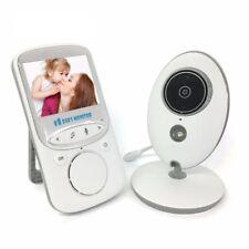Babyphones écran 2.4 pouce LCD IR vision de nuit Température