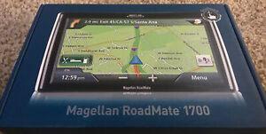 "Magellan Roadmate 1700 GPS System 7"" Screen Portable Navigator"