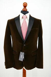 Hugo Boss Smoking Anzug Gr.48 100% Baumwolle Black Label NEU mit Etikett