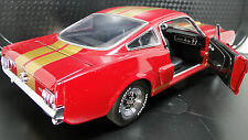 Ford Mustang 1965 GT Concept SportsCar Racecar Rare Vintage 1 18 Carousel Red 40
