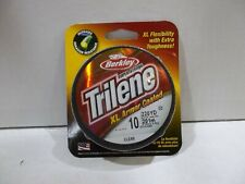 Berkley Trilene Xl Armor Coated 10 lb 220 yards clear Nip