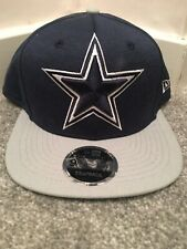 New Era 9Fifty Strapback Dallas Cowboys NFL Football Cap Star Navy Blue Grey