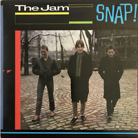THE JAM SNAP 2-LP POLYDOR UK 1983 BEST OF SET EX/NR MINT PRO CLEANED