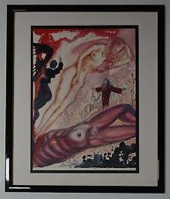 "Original 1967 Salvador Dali Biblia Sacra ""Mulier e latere viri"" Signed - COA"