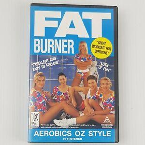 AEROBICS OZ STYLE FAT BURNER ~VHS PAL  VIDEO a rare find