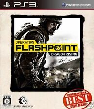 Used PS3 Operation Flashpoint: Dragon  SONY PLAYSTATION 3 JAPAN JAPANESE IMPORT
