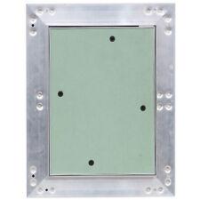 Revisionsklappe Revisionstür Aluminium-Rahmen Gipskarton 25x30 cm V2Aox