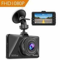 AKASO Caméra Voiture Embarquée Conduite Enregistreur FullHD Dashcam WDR FR Stock