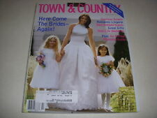 TOWN & COUNTRY Magazine, February, 1998, SPECIAL WEDDING ISSUE, GOWNS, LINGERIE!