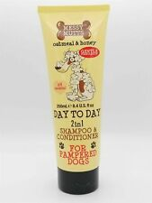 Messy Mutts Oatmeal & Honey 2in1 Dog Shampoo&Conditioner Irritated Skin 250ml –