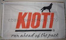 Kioti Tractor Run Ahead of the Pack 3'x5' Flag Banner - USA seller shipper