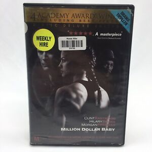 Million Dollar Baby (DVD, 2004) Region 4 With Clint Eastwood Ex-Rental