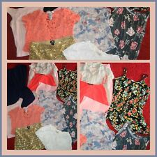 HUGE LOT SUMMER CLOTHES SHORTS TOPS AEROPOSTALE OLD NAVY OUTFITS WOMENS SIZE M 8
