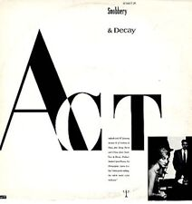 """Act Snobbery & Decay Limited Edition  UK 12"""""""