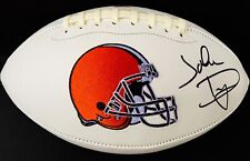JOHN DORSEY SIGNED CLEVELAND BROWNS LOGO FOOTBALL PSA/DNA RARE