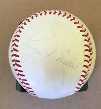 Roger Maris Autographed Baseball - Single Signed Rare