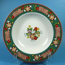 Mary Engelbreit MAGIC OF CHRISTMAS Rimmed Soup Bowl (s) New Candy Enesco 2001