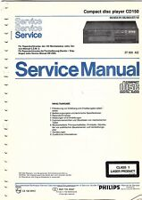 Philips Original Service Manual für CD 150