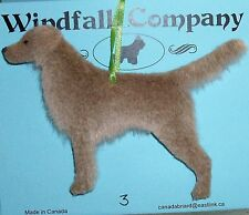 Long Haired Weimaraner Dog Soft Plush Christmas Canine Ornament # 3 by WC