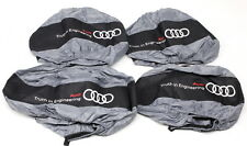 """Set of 4 OEM Audi Wheel Totes Fits Up To 31"""" Wheels ZAW-601-001"""