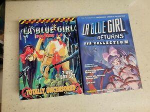 La Blue Girl and la blue girl returns box sets htf oop last set available