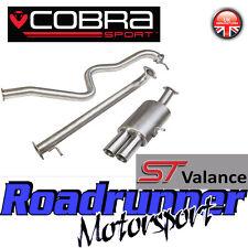 Cobra Fiesta MK7 1.0T Ecoboost Zetec S Exhaust Cat Back Non Res ST180 Style FD99