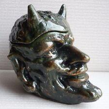 Soviet Russian souvenir MEPHISTOPHELES DEVIL Ashtray Vase sculptupe figurine