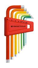 PB Swiss Tools PB 210.H-6 RB Hex Key Set Metric Rainbow 7-Piece Swiss Made
