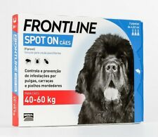 FRONTLINE SPOT ON Fleas Tick Lice Treatment Dog 40/60Kg (88/132lb)