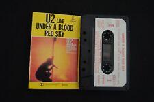 U2 UNDER A BLOOD RED SKY RARE NEW ZEALAND CASSETTE TAPE!  X