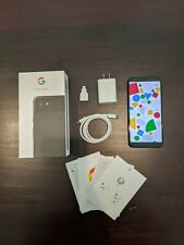 Google Pixel 3a Xl - 64Gb - Verizon - Just Black - Original Box + Accessories