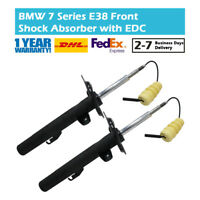 Pair Front Left and Right Shock Absorber Fit BMW 7 Series E38 750 31311091557