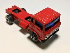 Vintage Yatming HO Scale Red COE Ford Delivery Truck Diecast