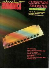 Instant Harmonica Christmas Favorites Music Book With Tab Songbook New On Sale