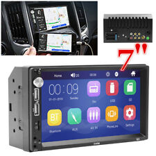 7 INCH Double 2Din Car Stereo Radio Multimedia Player Bluetooth MP5 Mp3 FM USB